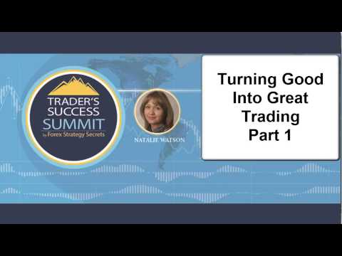 Interview With Natalie Turning Good to Great Trading Part 1